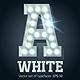 Light Up Cold White Alphabet - GraphicRiver Item for Sale