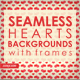 Watercolor Hearts Vintage Backgrounds - GraphicRiver Item for Sale