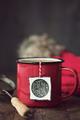 Festive mug of tea - PhotoDune Item for Sale