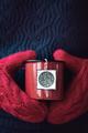 Mug of tea in woollen mittens - PhotoDune Item for Sale