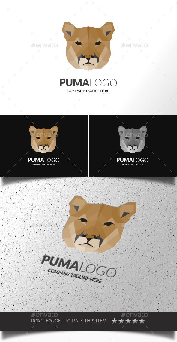 Puma Logo - Animals Logo Templates
