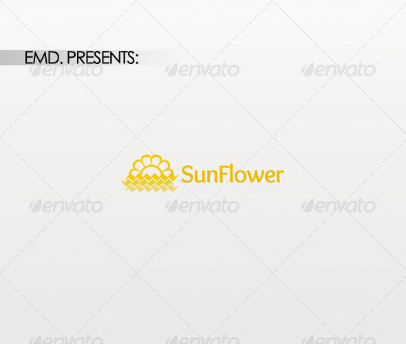Sun Flower Logo - Symbols Logo Templates