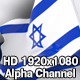 Flag Transition - Israel - VideoHive Item for Sale