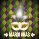 Gold and White Carnival Mask - GraphicRiver Item for Sale