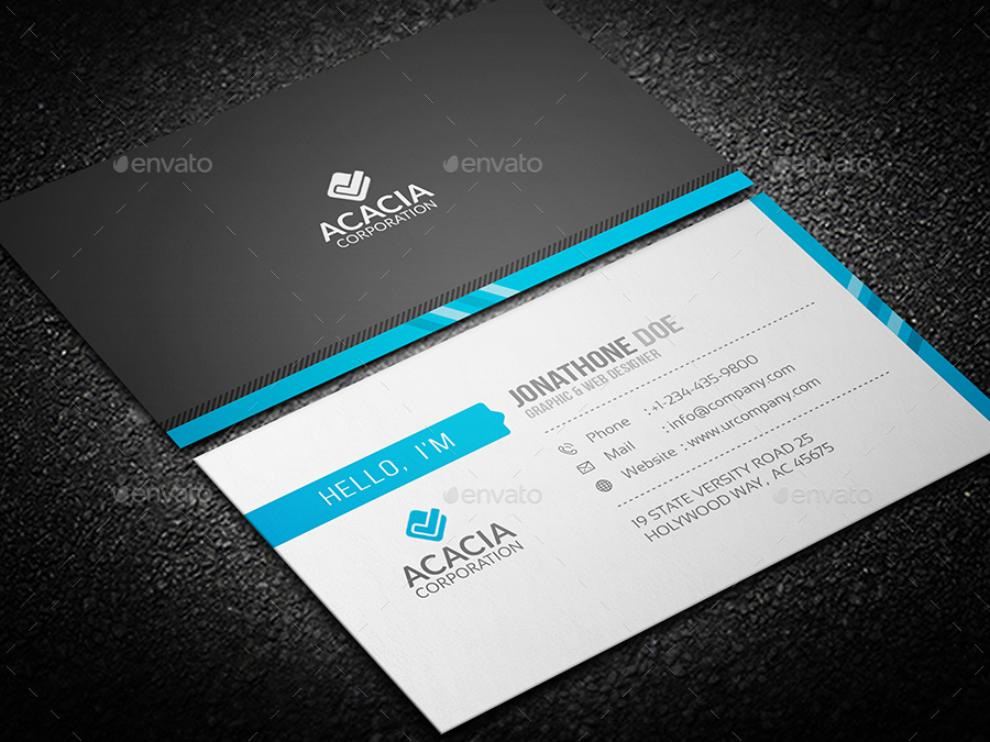 Professional Business Card V-02