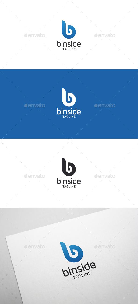 Binside B Letter Logo - Letters Logo Templates
