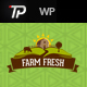 Farm Fresh - Organic Products WordPress Theme - ThemeForest Item for Sale