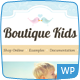Boutique Kids Creative WordPress Theme Nulled