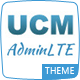 UCM Theme: AdminLTE CRM Nulled
