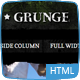 Sport and Grunge - HTML - ThemeForest Item for Sale