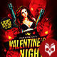 Valentines Night Conquer the Queen Flyer - GraphicRiver Item for Sale