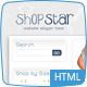 Shop Star - 2 Color Template inc PHP Shopping Cart Nulled