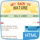 Get Back To Nature - HTML Nulled