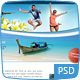 Curvy and Clean Travel - 3 page photoshop  Nulled