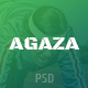 Agaza - News & Magazine PSD Template