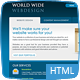 World Wide Webdesign - 6 Page HTML Nulled