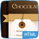 Chocolate Coffee & Cupcakes - HTML - ThemeForest Item for Sale