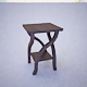 Corner table - 3DOcean Item for Sale