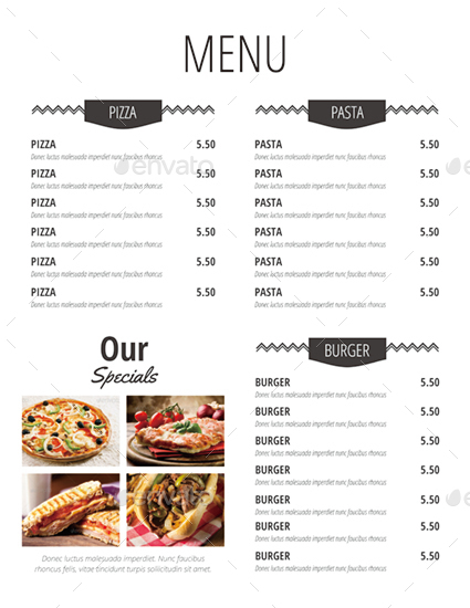 simple restaurant menu koni polycode co