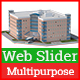 Web Slider Multipurpose Use - GraphicRiver Item for Sale