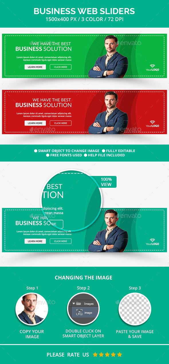 Web Business Slider - Sliders & Features Web Elements