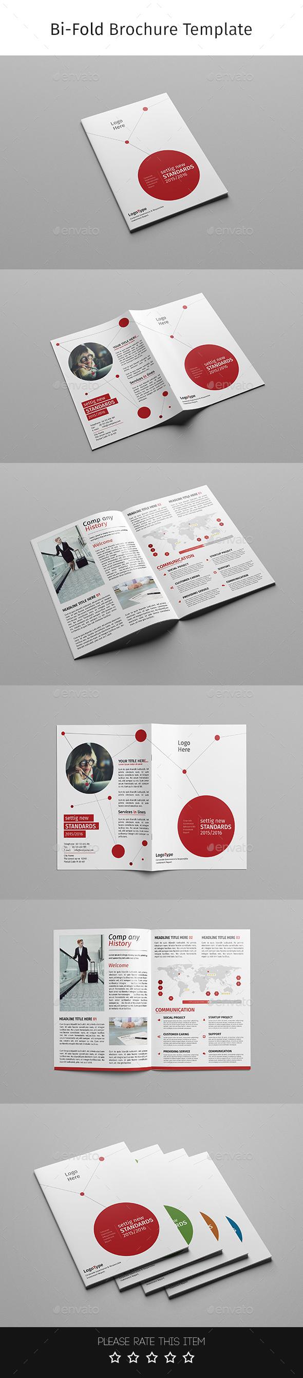 Corporate Bi-fold Brochure-Multipurpose 07 - Corporate Brochures