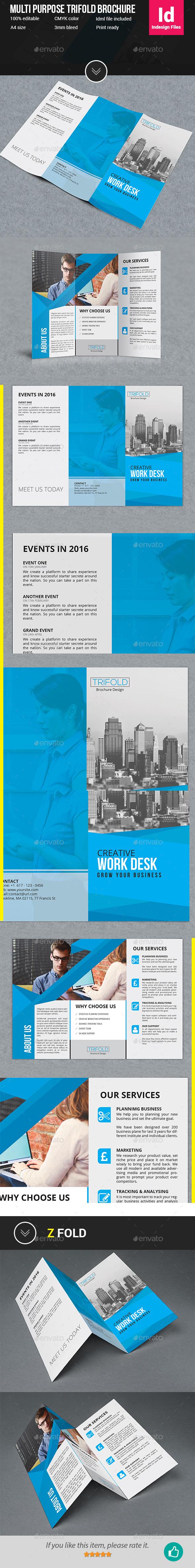 Trifold Brochure V1 - Corporate Brochures