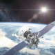 Earth Orbit With Satellite 2 - VideoHive Item for Sale