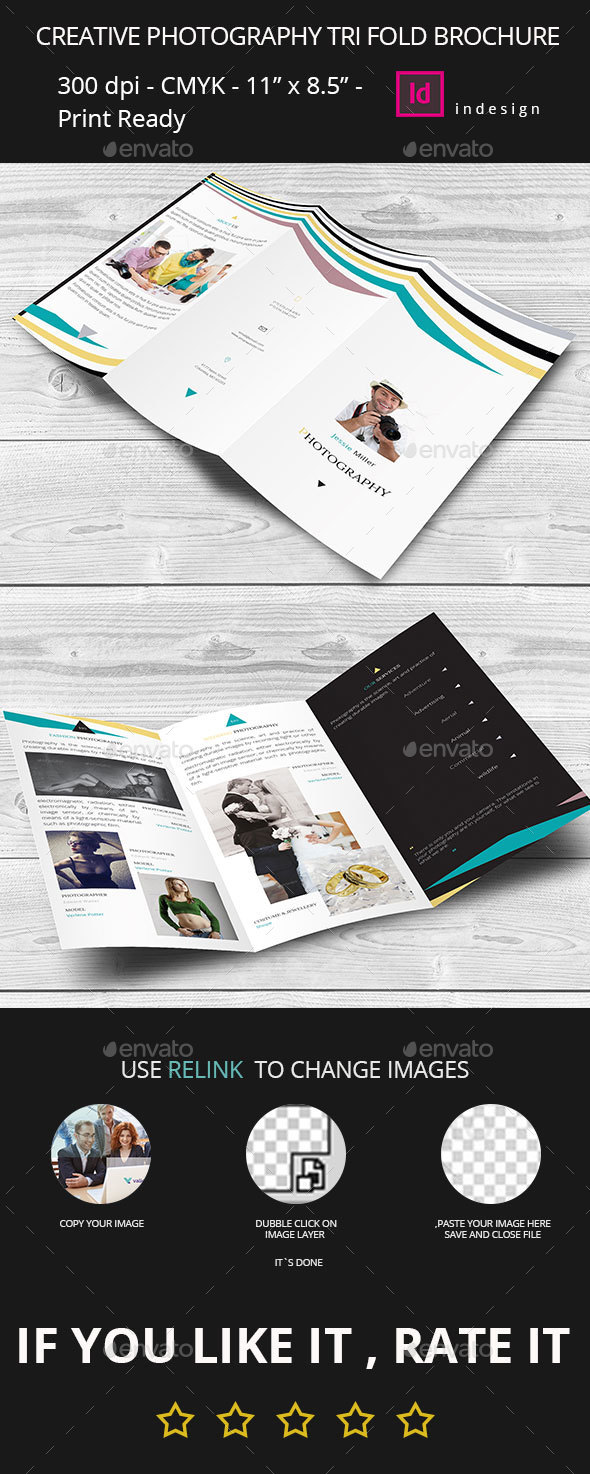 photography brochure template corporate brochures