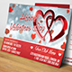 Valentines Day - Postcard - GraphicRiver Item for Sale