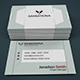 Next Creativa - Corporate Modern Business Card V1 - GraphicRiver Item for Sale