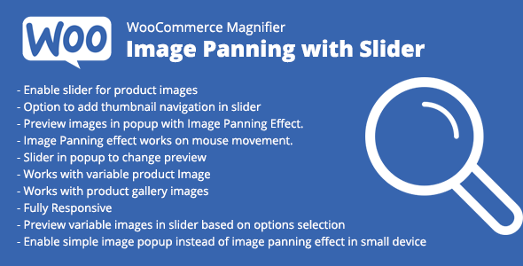 WooCommerce Magnifier – Image Panning with Slider - CodeCanyon Item for Sale