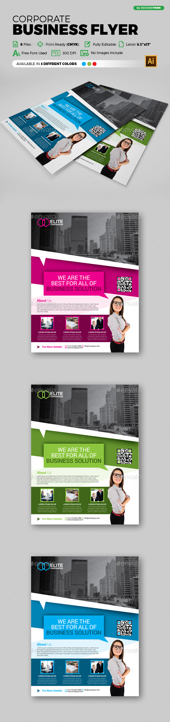 Flyer – Multipurpose 115 - Corporate Flyers