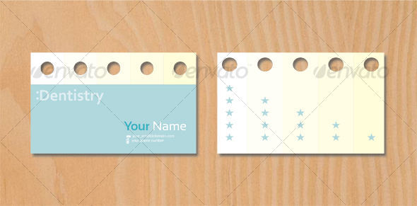 DENTIST BUSINESS CARD 2 - Creative Business Cards