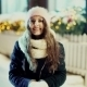 Winter Christmas Girl. Beautiful Woman Blowing Snow - VideoHive Item for Sale