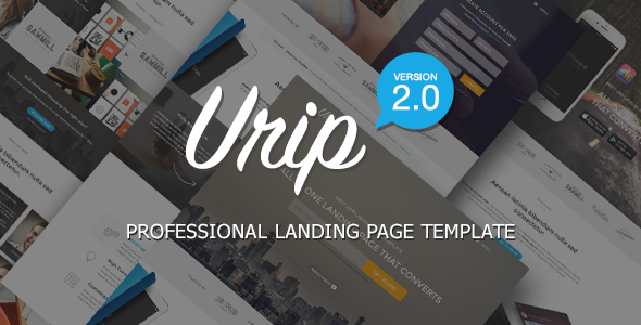 Urip – Professional Marketing Template