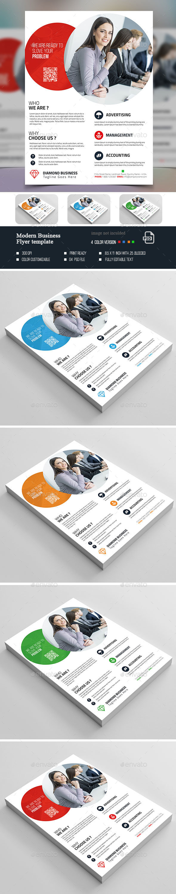 Modern Flyer Template - Corporate Flyers