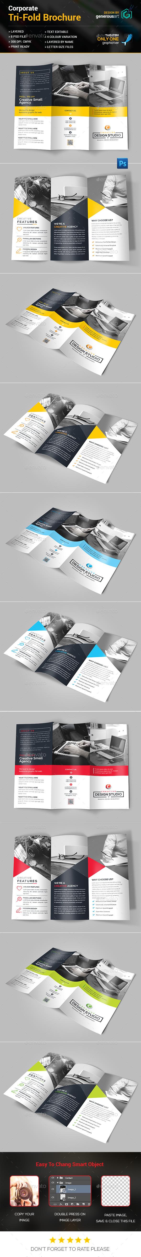 Agency Tri-Fold Brochure - Corporate Brochures