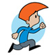 Kid Running - GraphicRiver Item for Sale