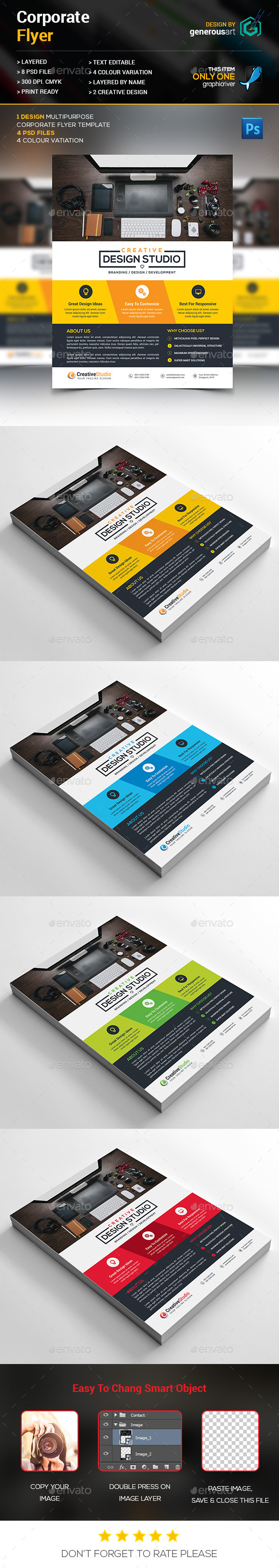 Web Agency Flyer - Corporate Flyers