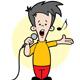 Kid Singing - GraphicRiver Item for Sale