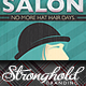 Download Vintage Salon Flyer from GraphicRiver
