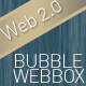 Bubble Web Profile Box Concept - GraphicRiver Item for Sale