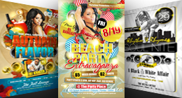 SEASONAL PARTY FLYER TEMPLATES