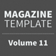 Magazine Template - Volume 11 - GraphicRiver Item for Sale