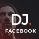 DJ Events Facebook Post Banner - GraphicRiver Item for Sale