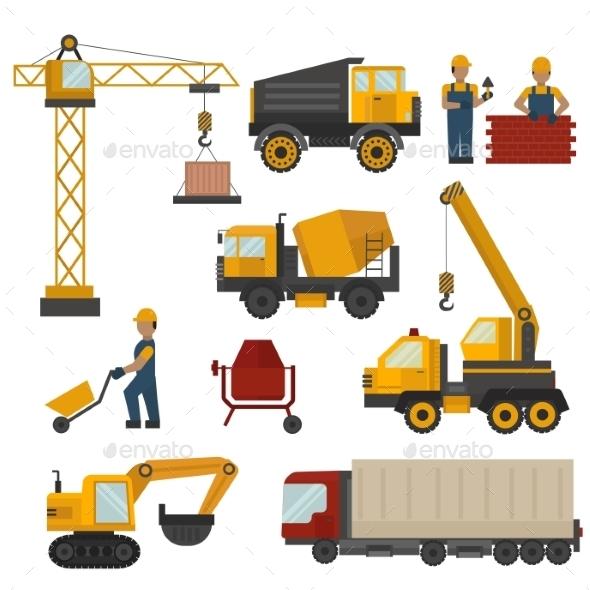 Building Under Construction - Industries Business