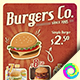 Burger Promo - GraphicRiver Item for Sale