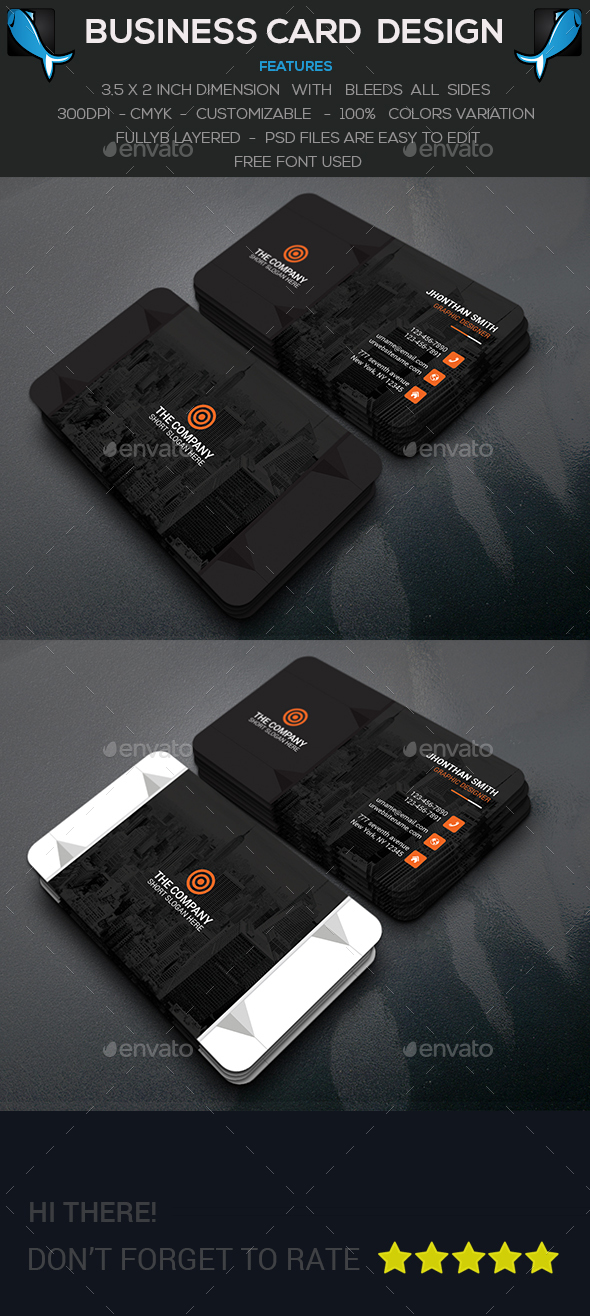 Styles Business Card - Creative Business Cards