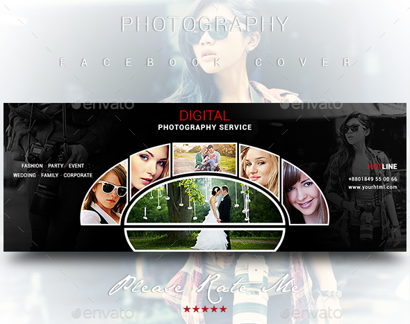 Photography Service Cover - Facebook Timeline Covers Social Media